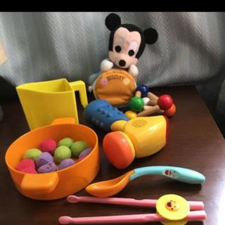 ミッキー 赤ちゃん向け おもちゃセット
