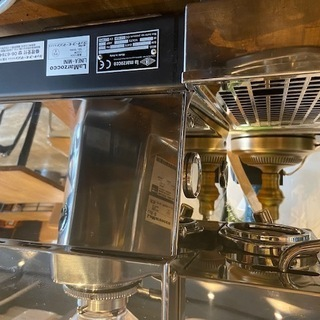 コーヒーマシン LA MARZOCCO ラ・マルゾッコ Linea-Mini リネアミニ 2018年製(カラー/ステンレス) - 京都市