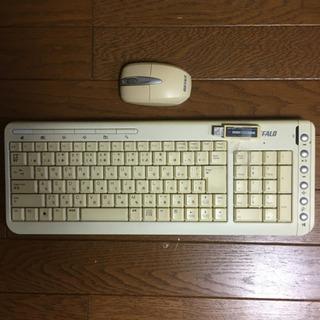 ワイヤレス キーボード&マウス セット