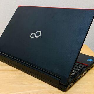 コスパ抜群のノートパソコン 富士通 A574/H Corei3/メモリ4GB/HDD500GB MicorosoftOffice付き - 売ります・あげます