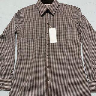 値下げ!ORIHICA長袖ストレッチ綿ポリシャツ。未使用でお得です。