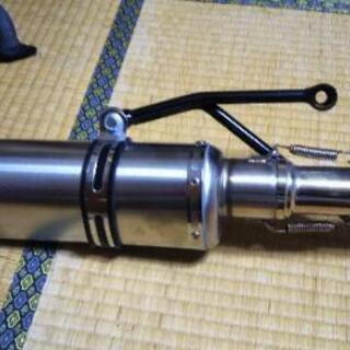 PCX125  Jf81用社外品マフラー