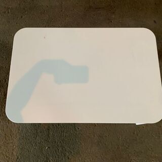 CAINZ 鏡面折りたたみテーブル ホワイト 座卓テーブル…