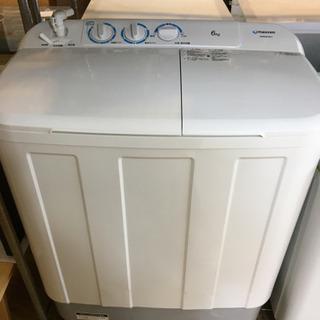 極美品 2020年製 maxzen 6.0kg2槽式洗濯機 JW...