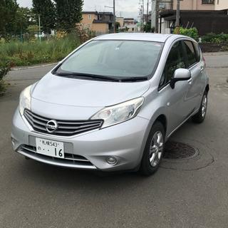 日産ノート平成25年NE 12 4WD 車検あり