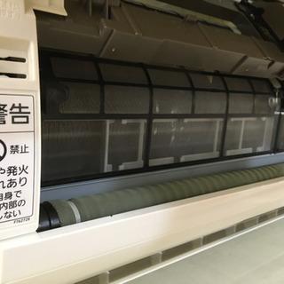 S179★6ヶ月保証★Panasonic★CS-X254C★2,5k★エアコン★2013年製⭐動作確認済⭐クリーニング済 - 家電