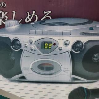 CD  DVD カセット等多機能マルチプレイヤー  お話し…