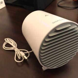 kungix USB扇風機 タッチ操作 二重羽根 静音 白 - 札幌市