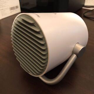 kungix USB扇風機 タッチ操作 二重羽根 静音 白 - 家電