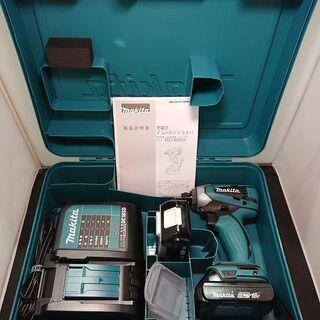 makita充電式インパクトドライバTD146DSHX(未使用品)