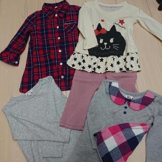 女の子秋服サイズ80~90