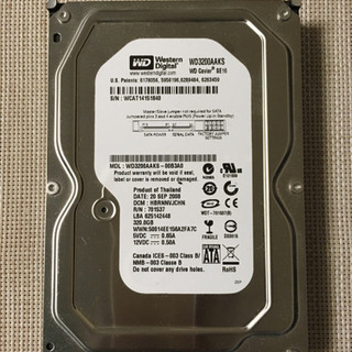 HDD 320GB WD3200AAKS