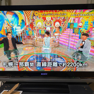 SONY 40インチ 液晶テレビ 譲ります!