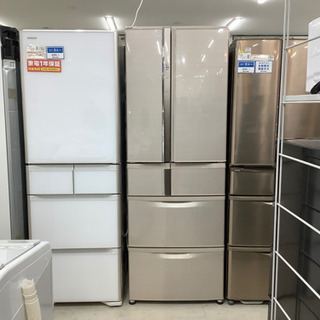 安心の6ヶ月保証付!!MITSUBISHI(ミツビシ)6ドア冷蔵...