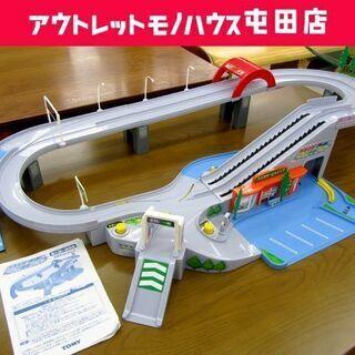 トミカ 高速道路 にぎやかドライブ 完品 箱なし 動作OK 札幌...