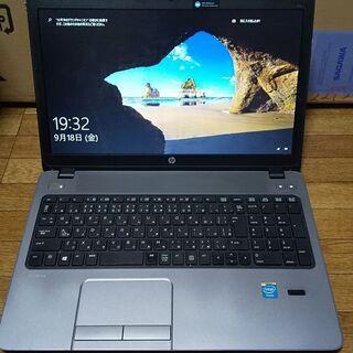 HP 第4世代CPU搭載 HDD320G メモリ4G CD/DV...