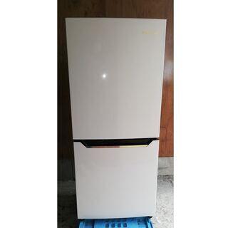美品 ハイセンス 130L 冷凍冷蔵庫 2018年