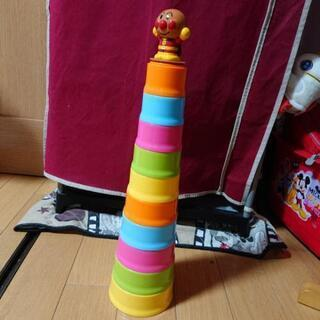 アンパンマン カップタワー おもちゃ