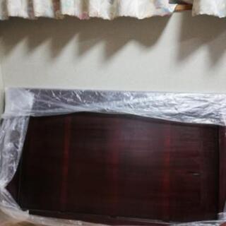 本紫檀の無垢板 座敷机用天板のみ 戦前の物、摺り漆仕上げ済