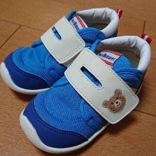 ミキハウス*ホットビスケッツ*靴14.5cm