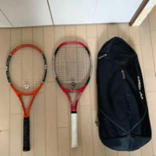 硬式テニス ラケット 2本