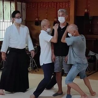 神社で学ぶ「氣」の教室:心身統一合氣道 @高津宮