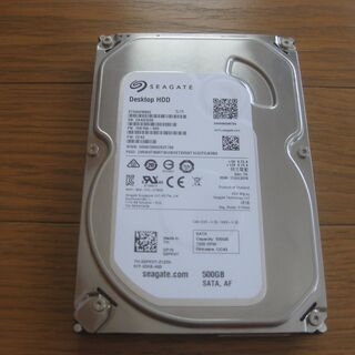 Seagate 500GB HDD SATA 3.5インチ ハー...