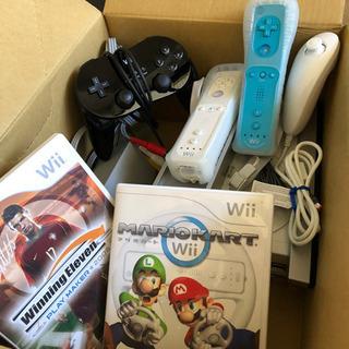 【急募・美品】Wii 本体 リモコン複数 ゲーム2本