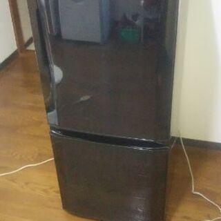 2015年製2ドア三菱冷蔵庫