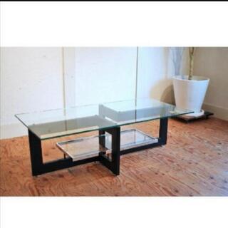 IDC大塚家具ガラステーブル