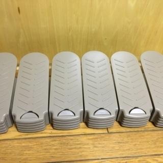 靴収納ホルダー シューズ収納ホルダー シューズストッカー 6個