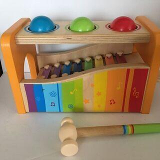 Hape(ハペ) 知育玩具 パウンド アンド タップベンチ E0...