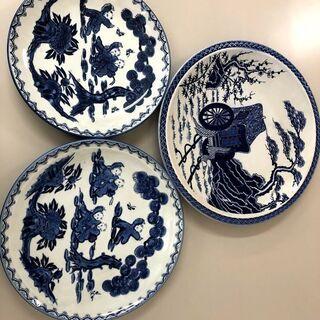 和皿  三枚の飾り物としても活用可能