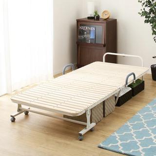 ニトリ 折り畳みすのこベッド(代理出品)