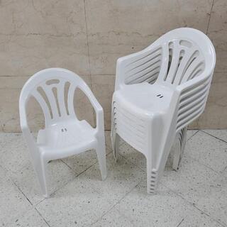 ■在庫14脚・1脚500円■ガーデンチェア 椅子 スタッキングチェアの画像