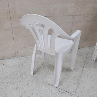 ■在庫14脚・1脚500円■ガーデンチェア 椅子 スタッキングチェア - 家具