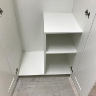 IKEA(イケア)二枚扉ワードローブ【トレファク堺福田店】 - 家具