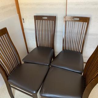 ダイニング チェアー 椅子  4脚 セット