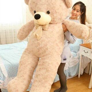 150cmサイズ!超大きいクマさんぬいぐるみ