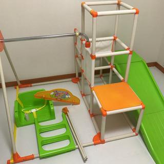 室内遊具 ジャングルジム ブランコ 滑り台