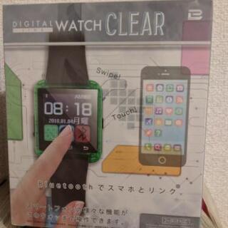 未開封品 スマートウォッチ android専用 ピンク