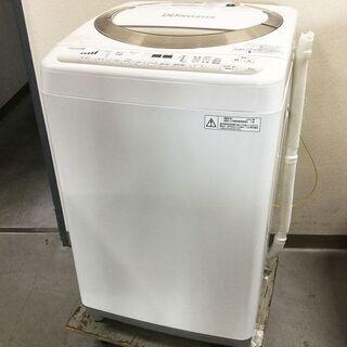 東芝 TOSHIBA 洗濯機 6㎏ AW-6D2 低騒音設計 風...