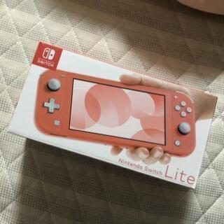 Nintendo Switch コーラルピンク スイッチ ライト