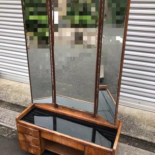 【アンティーク】鏡台