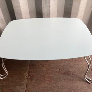 0919-9  折りたたみテーブル ターコイズブルー