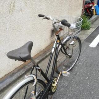 🔴🔵早い者勝ち🌕27インチ、6段ギア自転車。ギアワイヤー新品に交...