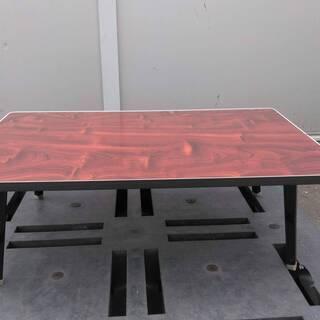 座卓 ローテーブル(折り畳み式) レトロ 高さ30㎝×幅90㎝×...