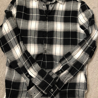 H&M チェックシャツ