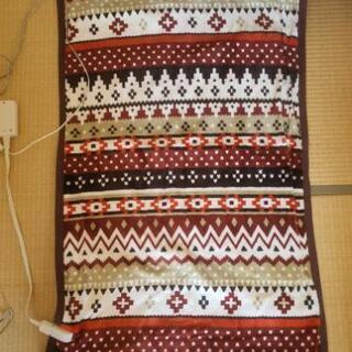 電気しき毛布(受け渡し者決まりました)