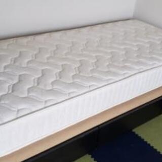 シングルベッド マットレス付